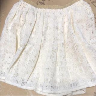 ジーユー(GU)のGU ジーユー 春物  花柄 キュロットスカート(スカート)