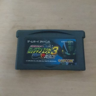 ゲームボーイアドバンス(ゲームボーイアドバンス)の【ジャンク】ロックマンエグゼ3 BLACK版 +ロックマンエグゼ6セット(携帯用ゲームソフト)