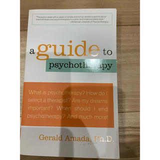a guide to psychotherapy(洋書)