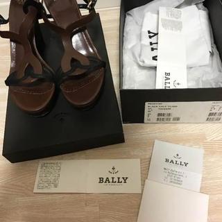 バリー(Bally)の【美品】BALLY サンダル (ウェッジソール)(サンダル)