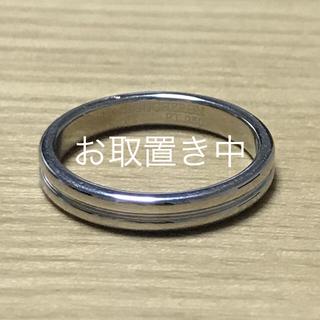 ブシュロン(BOUCHERON)の【たむたむ様専用】ゴドロン プラチナリング  ブシュロン(リング(指輪))