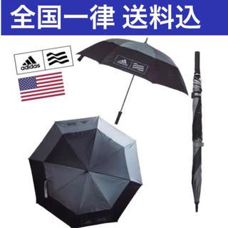 アディダス(adidas)のゴルフシーズンやって来た 特大サイズ アディダス ゴルフ傘 晴雨兼用 ダーク(その他)