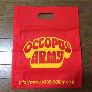 octopus ARMY布ショップ袋