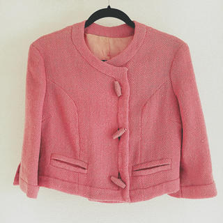 ロキエ(Lochie)の◎ vintage rétro nocollar jacket(ノーカラージャケット)