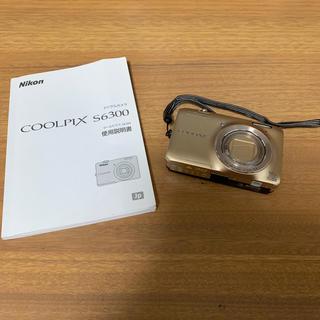 ニコン(Nikon)のNikon COOLPIX S6300(コンパクトデジタルカメラ)