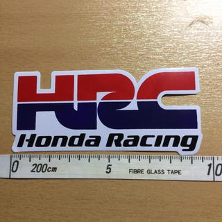 ホンダ(ホンダ)のホンダレーシング HRC Moto GP ロードレース世界選手権 ステッカー 小(ステッカー)