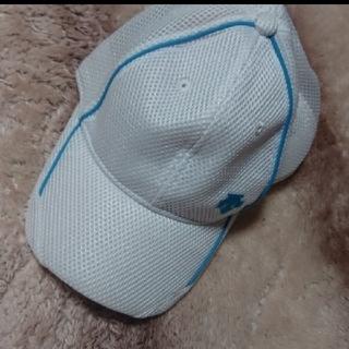 デサント(DESCENTE)のDESCENTE ランニング メッシュキップ 帽子(その他)