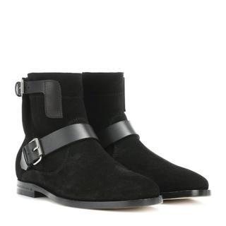 サンローラン(Saint Laurent)の定価17万円<新品>SAINT LAURENT スエード アンクル ブーツ(ブーツ)