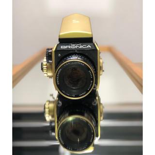 bronicaブロニカEC ゴールドと レンズzenzanon1:3.5f150(フィルムカメラ)
