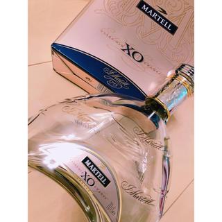 MARTELL XO マーテルxo 空瓶 箱付インテリア (ブランデー)
