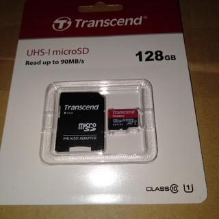 トランセンド(Transcend)のMicroSD 128GB(PC周辺機器)