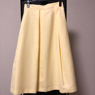 アリスバーリー(Aylesbury)のAylesbury 春スカート 新品タグ(ひざ丈スカート)