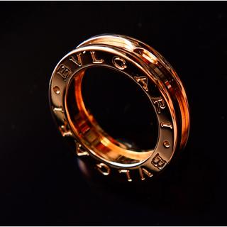 ブルガリ(BVLGARI)のBVLGARI ビーゼロワン リング ピンクゴールド #45(リング(指輪))