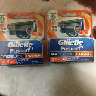 ジレ(gilet)のジレットフュージョン5.1ブログロイドパワー(メンズシェーバー)