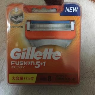 ジレ(gilet)のジレット5.1フュージョン大容量8パック(メンズシェーバー)