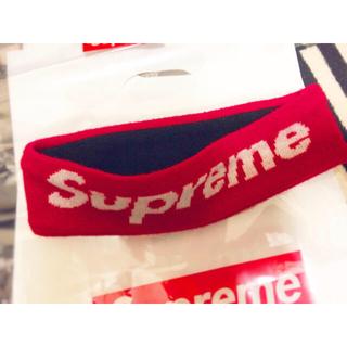 シュプリーム(Supreme)のSupreme × NEW ERA ヘアバンド 赤(その他)