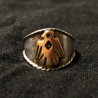 ゴローズ(goro's)のゴローズ goro's イーグル 縄目リング ヒヨコ メタル付き 指輪 14号(リング(指輪))