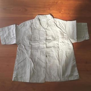 ジーユー(GU)のGU 半袖シャツ 130cm(ブラウス)