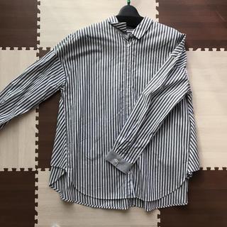 アウィーエフ(AuieF)のチェックシャツ ストライプシャツ(シャツ/ブラウス(長袖/七分))