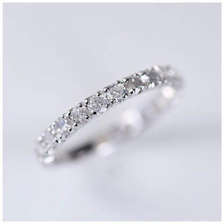 ショパール(Chopard)の❤︎1カラット 天然ダイヤモンド  プラチナ エタニティリング❤︎指輪 リング (リング(指輪))