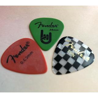 フェンダー(Fender)のピック フェンダー  3枚(その他)