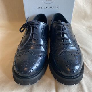 ジルサンダー(Jil Sander)の【DB by'BUZZ】ウィングチップシューズ 37 1度のみ使用(ローファー/革靴)