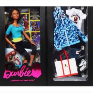A BATHING APE - Blue 新品国内正規 原宿店限定 BAPE BARBIE DOLLバービー人形
