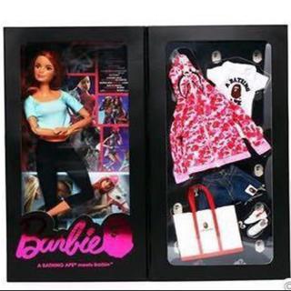 A BATHING APE - ピンク 新品国内正規 原宿店限定 BAPE BARBIE DOLLバービー人形