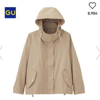 ジーユー(GU)のgu マウンテンパーカー ページュ (モッズコート)