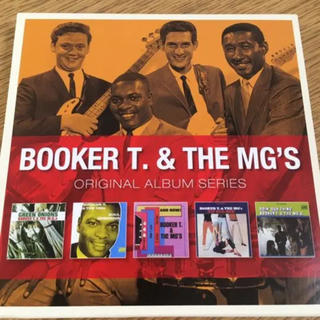 Booker T. & The Mg's  5CDセット
