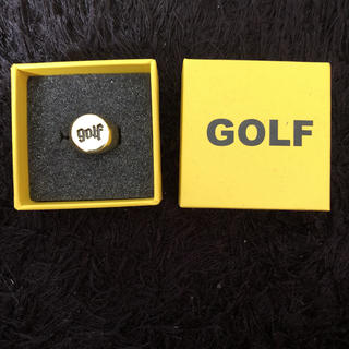 シュプリーム(Supreme)のgolfwang  ring size7 18k gold plating(リング(指輪))