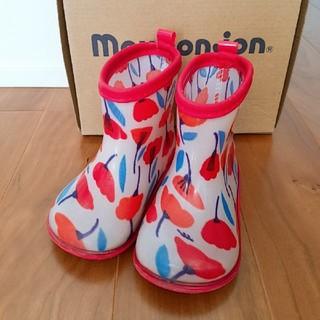 ムージョンジョン(mou jon jon)の長靴 14cm  キッズ ムージョンジョン 女の子(長靴/レインシューズ)