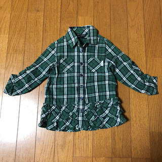 イーストボーイ(EASTBOY)のEAST BOY イーストボーイ チェックシャツ 100㎝(ブラウス)