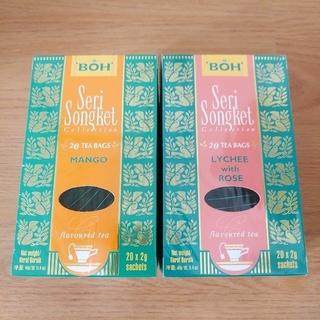 ボー(BOH)のBOH 紅茶 マンゴー&ライチローズ ティーバッグ(茶)