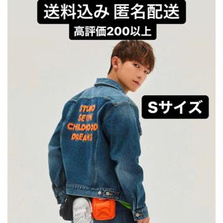 ジーユー(GU)のGU × STUDIO SEVEN デニムジャケット Sサイズ(Gジャン/デニムジャケット)