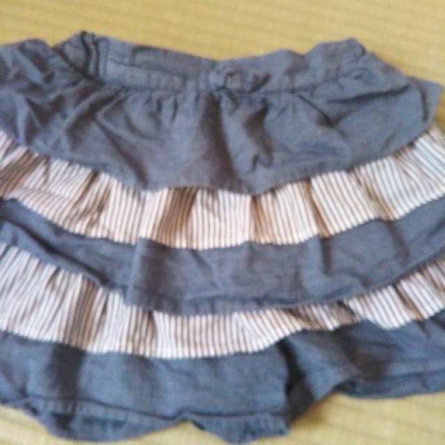GU(ジーユー)のgu スカート 120 キッズ/ベビー/マタニティのキッズ服 女の子用(90cm~)(スカート)の商品写真