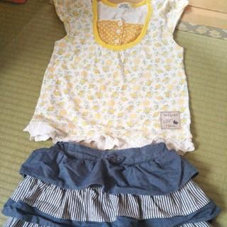 ジーユー(GU)のgu スカート 120(スカート)