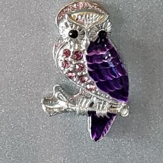 フクロウのマグネット(インテリア雑貨)