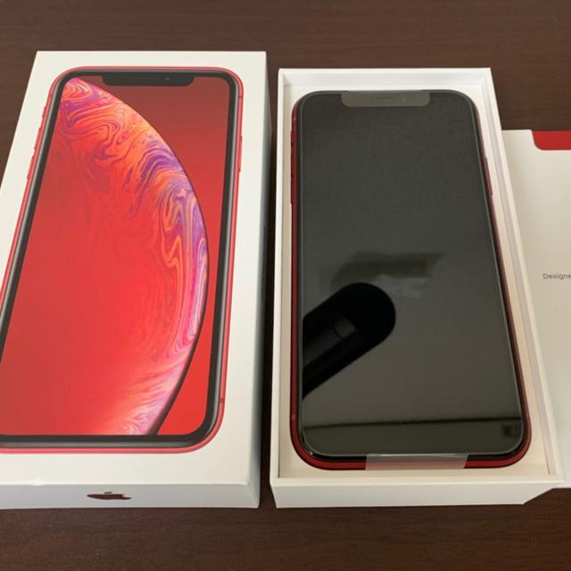 iPhone(アイフォーン)のiPhone XR 64GB docomo SIMフリー済み スマホ/家電/カメラのスマートフォン/携帯電話(スマートフォン本体)の商品写真