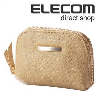 エレコム(ELECOM)のアイコス ケース オールインワン ソフトレザーマルチポーチ ハンドストラップ付 (ポーチ)