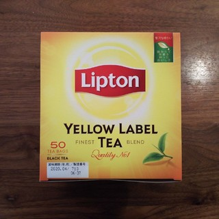 リプトン アルミティーバッグ イエローラベル 50袋 1箱(茶)