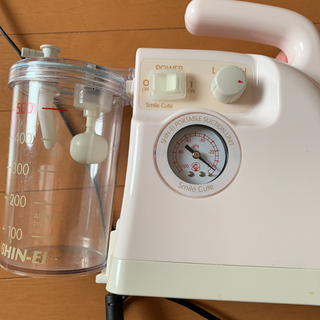 電動鼻水吸引器 スマイルキュート 付属品(鼻水とり)