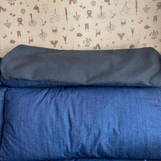 ムジルシリョウヒン(MUJI (無印良品))の無印良品ソファヘッドレスト3シーターカバー(その他)