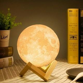 間接照明 月ライト 月のランプ あかり インテリア照明 3Dプリント USB充電(フロアスタンド)