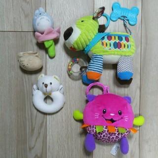 フィッシャープライス(Fisher-Price)の美品・おもちゃ 五点セット(がらがら/ラトル)