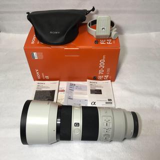 ソニー(SONY)のSONY FE 70-200mm F4 G OSS 小三元 付属品完備(レンズ(ズーム))