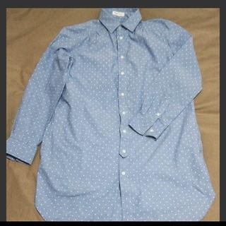 ロペピクニック(Rope' Picnic)のロペピクニックデニム風ドットシャツ(シャツ/ブラウス(長袖/七分))