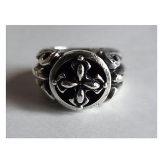 アルページュArpegeリング指輪16.5号SVシルバー925クロスBSフレア (リング(指輪))