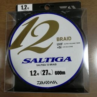 ダイワ(DAIWA)のラスト1 ソルティガ 12ブレイド 1.2号 600m (釣り糸/ライン)
