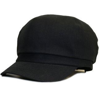 帽子 大きいサイズ レディース メンズ キャスケット ラージ ブラック(キャスケット)